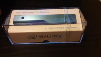 RealSense 3D camera