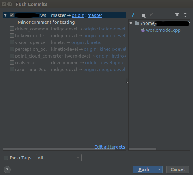 Setting up CLion for ROS and GitHub – Robotics  And other